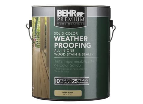 behr premium solid color weatherproofing wood stain home