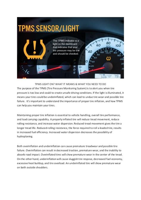 what is tpms light tpms light on what it means what you need to do