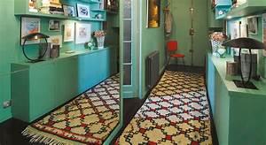 amenagement couloir rangement ciabizcom With comment tapisser un meuble 7 15 idees pour amenager son couloir elle decoration