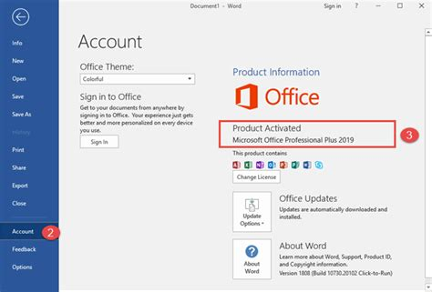 Office Version by 5 Ways To Find The Exact Version Of Microsoft Office That