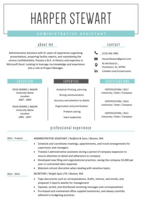 Resume Ideas by Free Resume Templates For Word Resume Genius