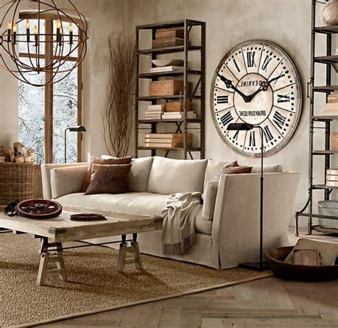 grosse horloge murale ancienne les 233 tag 232 res m 233 talliques un rangement original archzine fr