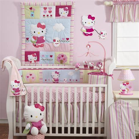 hello kitty crib set baby nursery decorating checklist
