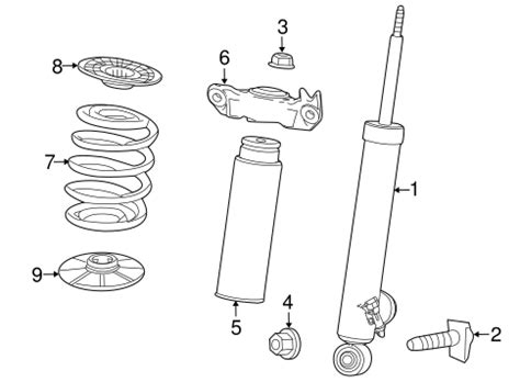 Oem Chevrolet Malibu Shocks Components Parts