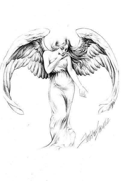 Jesse Santos - Book of angels | Stylish Tattoo | Tattoo drawings, Angel tattoo designs, Cherub