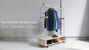 Diy Garment Rack Ep31