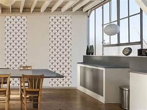 Papier Peint Japonisant : inspiration japonaise papier peint avec vagues le grand ~ Premium-room.com Idées de Décoration