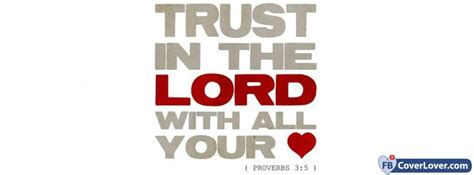 trust   lord proverbs   religion christian facebook