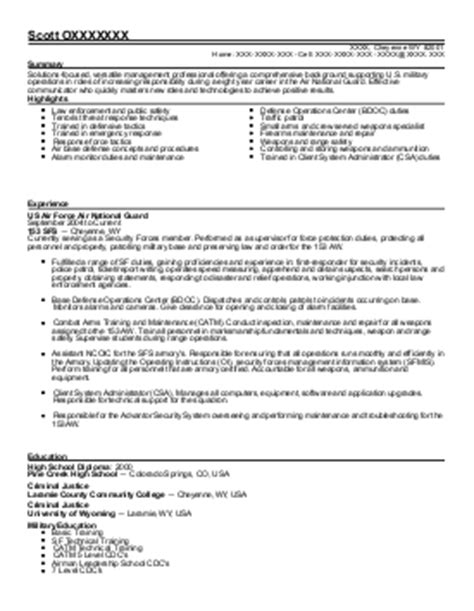 92a automated logistical specialist resume exle