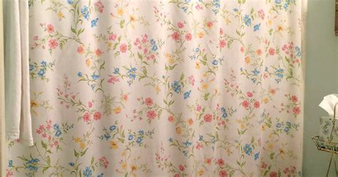 vintage bed sheet diy shower curtain hometalk