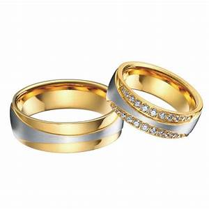 anel ouro vintage 18k gold plating cz diamonds engagement With gold king and queen wedding rings
