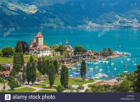 Canton Berne Bernese Oberland Spiez Switzerland Europe