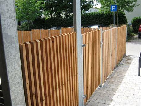Sichtschutz Sibirische Lärche by Fmh Sichtschutz Fmh Metallbau Und Holzbau Stuttgart