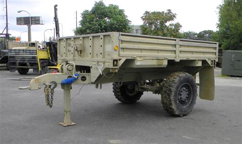 military trailer cer m1082 2 1 2 ton lmtv fmtv drop side trailer