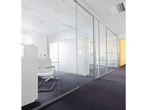 cloison verre bureau cloison amovible de bureau coulissante en verre h68 by