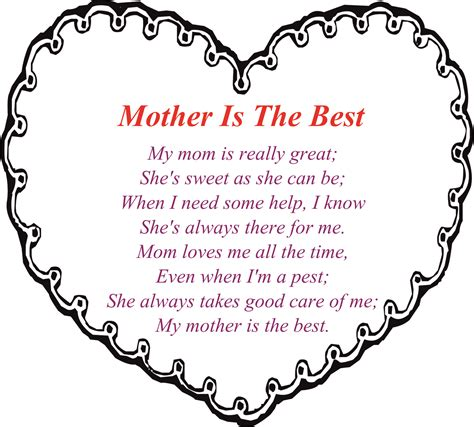 mothers day poems happy mothers day poem mom