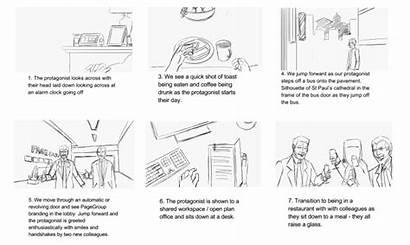 Storyboard Film Corporate Storyboards Shot Screen Successful