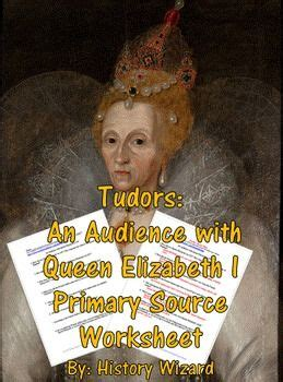 tudors  audience  queen elizabeth  primary source