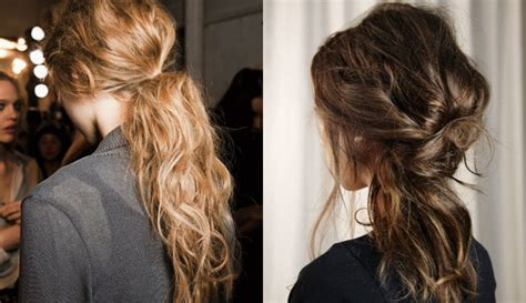 2014 Fall / Winter 2015 Casual Hairstyles
