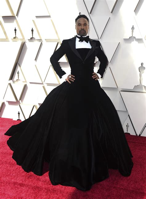 Billy Porter Storms Oscars Red Carpet With Outfit That