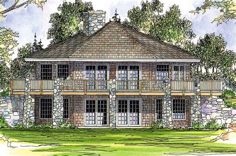 House Plans by Prairie Style House Plans Grandview 10 249 Associated