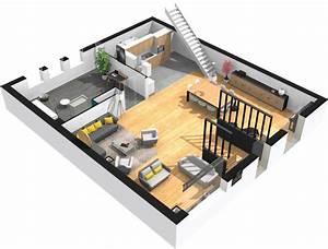 Plan 3d En Ligne : logiciel gratuit pour dessiner vos plans de maison en 3d ~ Dailycaller-alerts.com Idées de Décoration