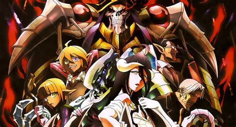 overlord tv animes  season premieres  january