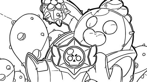 cose da stare di brawl coloring pages brawl romuald coloring mewarnai site
