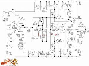 Lm3886 Amplifier Circuit Diagram
