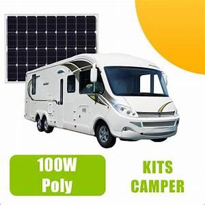 Panneau Solaire Camping Car Quelle Puissance : kit panneau solaire 100w 12v camping car 239 00 ~ Medecine-chirurgie-esthetiques.com Avis de Voitures
