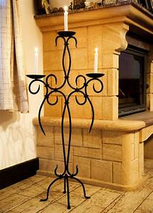Kerzenhalter Schwarz Metall : kerzenst nder artus 100 cm schmiedeeisen 21216 kerzenleuchter kerzenhalter metal ebay ~ Sanjose-hotels-ca.com Haus und Dekorationen