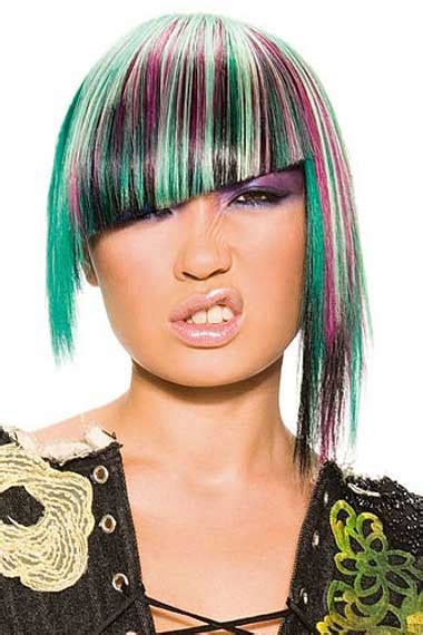 Hair Color Exles by Block Hair Coloring