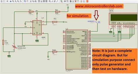 digital humidity sensor  lcd display  microcontroller