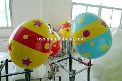 commercial easter egg fibreglass decorations easter egg