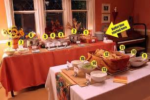 a mexican buffet dinner