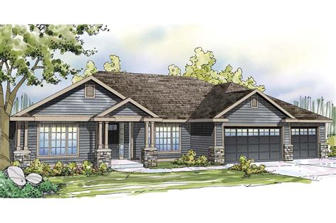 ranch style homes with 3 car garage ranch house plans with 3 car tandem garage