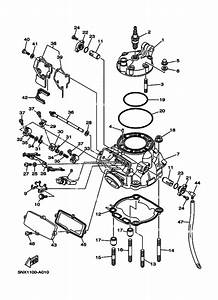 Cylinder Head For 2015 Yamaha Yz250
