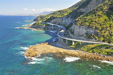 The Sea Cliff Bridge In Australia Pics