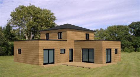 modele maison gaelle becokit maisons ossature bois