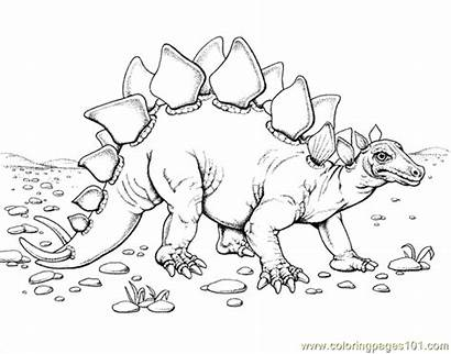 Dinosaur Coloring Pages Printable Realistic Drawing Google