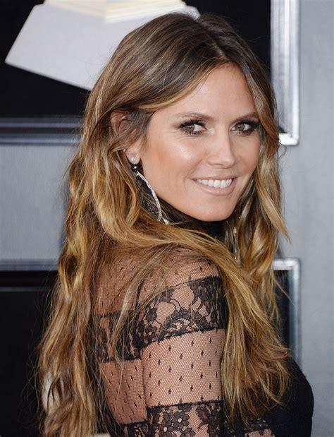 Heidi Klum Grammy Awards New York