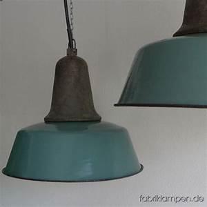 Grün Und Blau : la90 industrieleuchte in gr n und blau caturus fabriklampen ~ Udekor.club Haus und Dekorationen