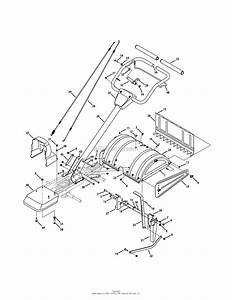 Mtd 21aa40m1031  2011  Parts Diagram For Handle  U0026 Tine
