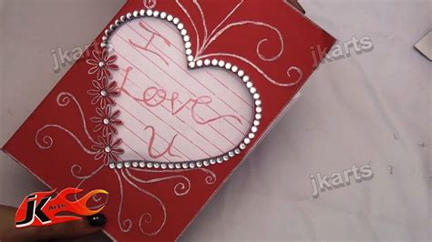 Diy How To Make Valentine's Day Greeting Card