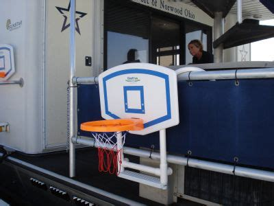 Pontoon Basketball Hoop by Our 2013 Yournewboat Gift Guide