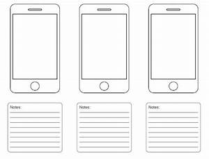 free printable sketching wireframing and note taking pdf With storyboard template app