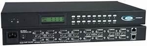 Video Matrix Switch Vga Switcher Router Multiple Monitors
