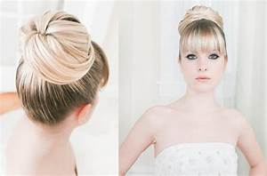 Big Bun Wedding Hair