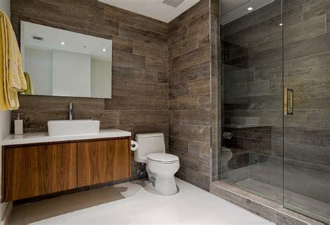 wood  porcelain tile  bathrooms case charlotte