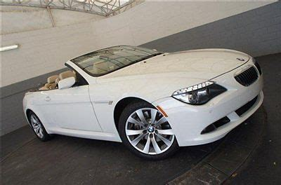 Purchase Used 2009 Bmw 650i Convertiblebmw Certified Pre